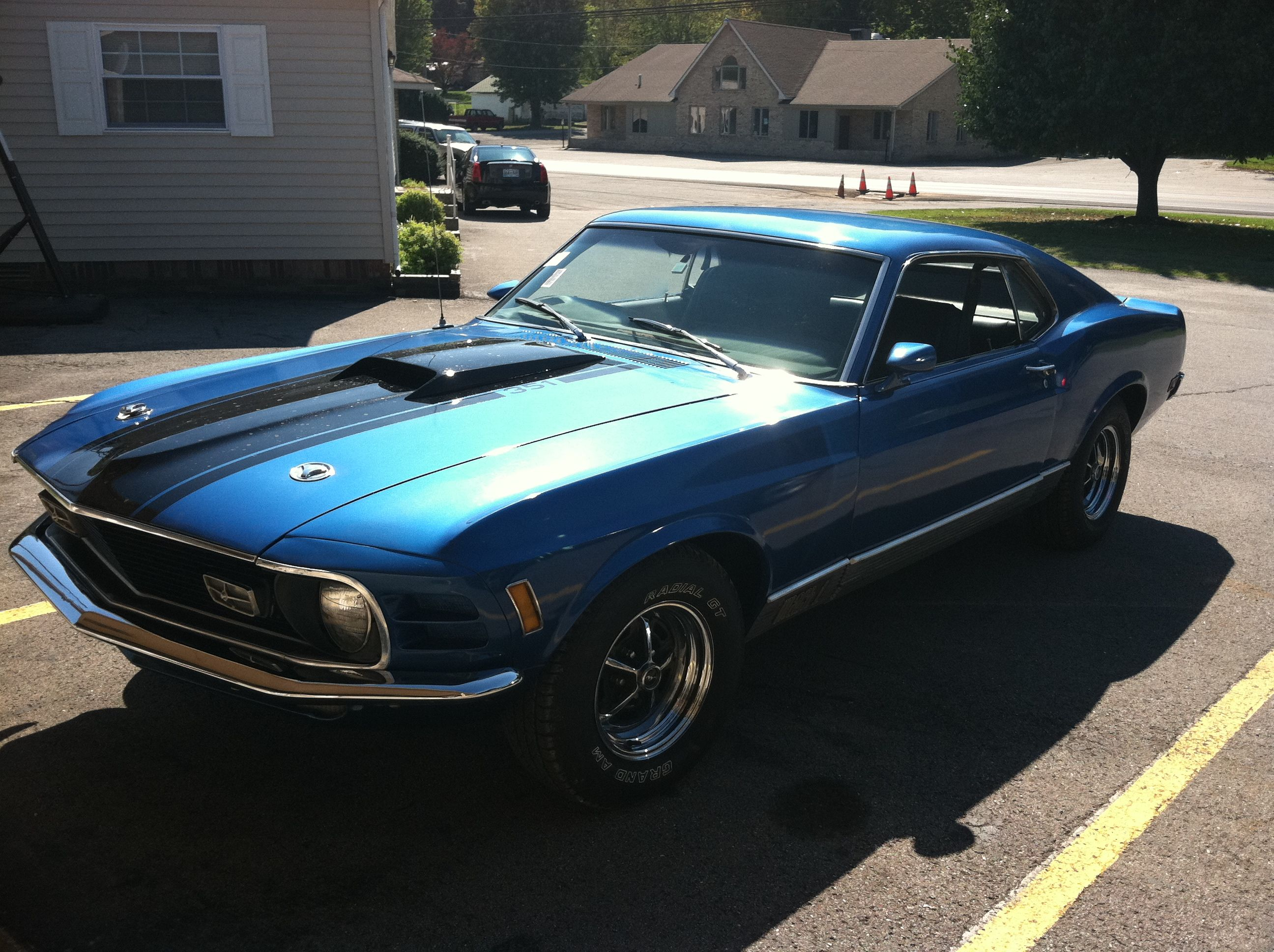 1970 Mach One Mustang-Our latest find from TN. | Bill\'s Cars ...