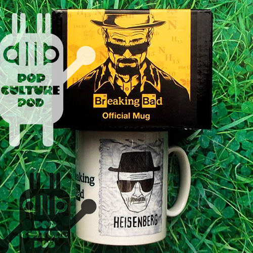 Official licensed Breaking Bad travel mug. Drink the danger, be the one who knocks (back coffee). #BreakingBed #Heisenberg #Mug