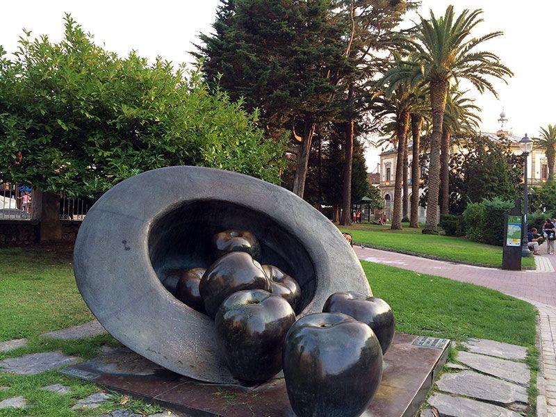 Villaviciosa, declarada conjunto histórico artístico. © Turismo Asturias.