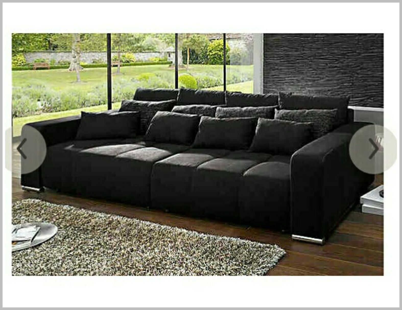 33 Reference Of Sofa Grau Oversized In 2020 Big Sofas Sofa Sofas For Small Spaces