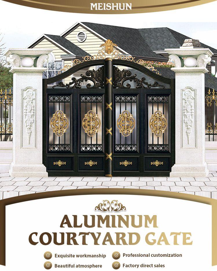 Manufacturer Of Good Price Aluminum Garden Gate Designs Buy Manufacturer Of Good Price Aluminum Garde Door Gate Design Main Gate Design Entrance Gates Design