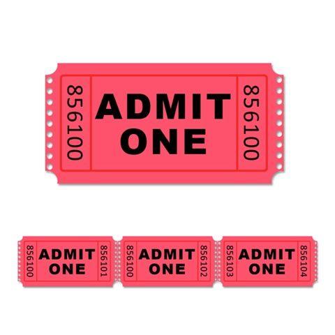 Website-template-stock-photo-admit-one-ticket13 | crafts | Pinterest ...