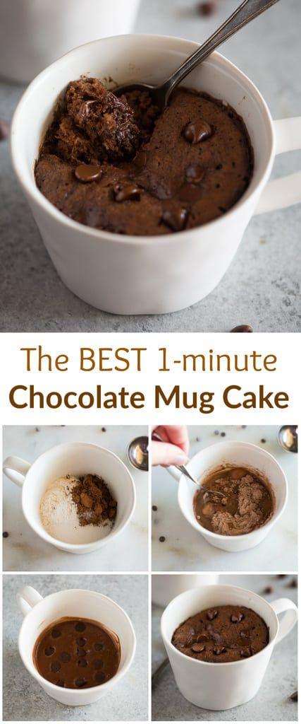 Chocolate Mug Cake | Recipe | Chocolate mug cakes ...