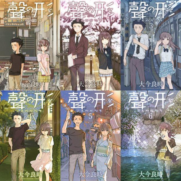 "Manga Review Koe no Katachi ""A silent voice"" A silent"