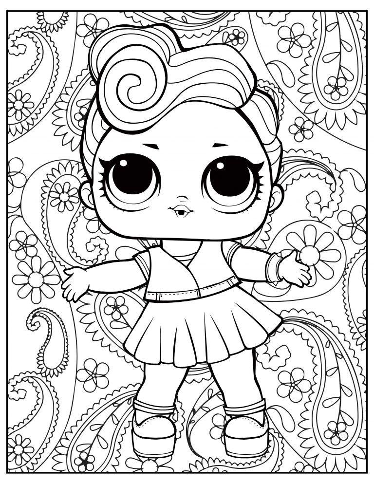 L O L Surprise Free Printable Coloring Pages Unicorn Coloring Pages Shopkins Coloring Pages Free Printable Coloring Pages