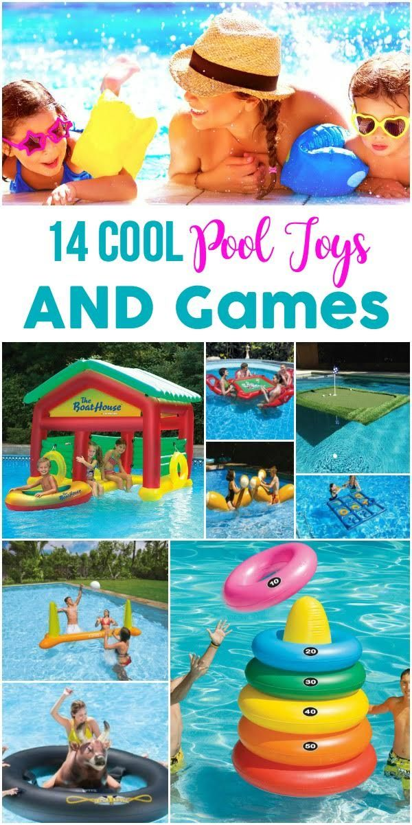 14 Cool Pool Toys and Games in 2019 | Shopping | Swimming pool toys ...