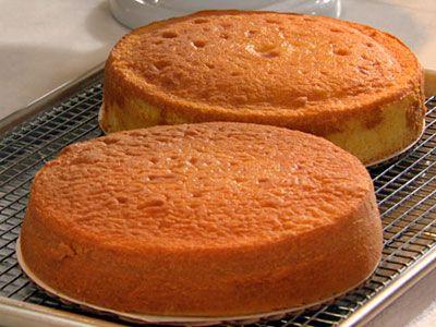 Yellow Butter Cake Recipe Yellow butter cake Martha stewart