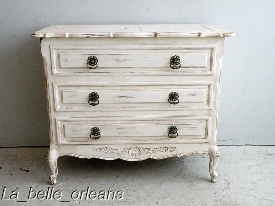 Romantic Shabby Chic · Painted French Provincial | How To Paint French  Provincial Furniture A Perfect White CHARMING .