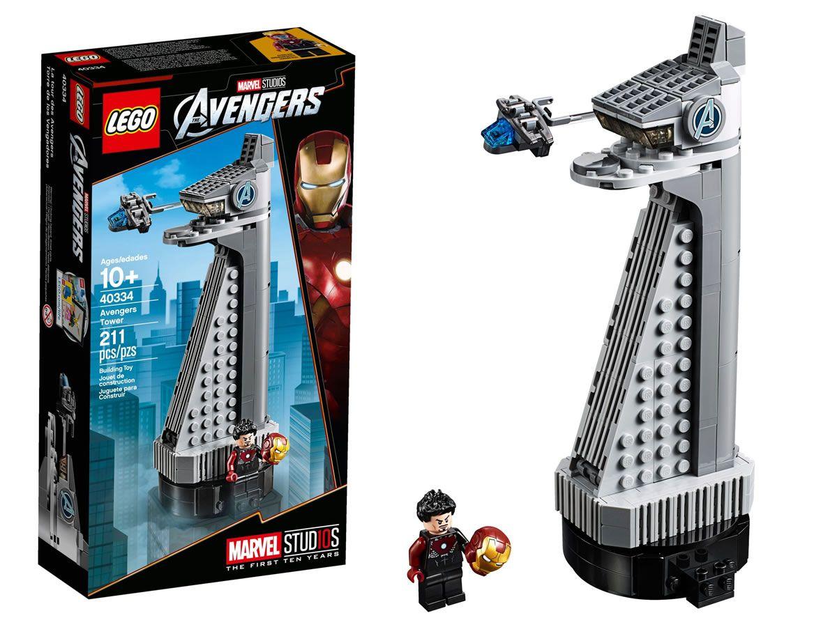 Du Avril Mai Au Marvel 40334 19 2019 Avengers Lego 2 TowerOffert 67ybfYg