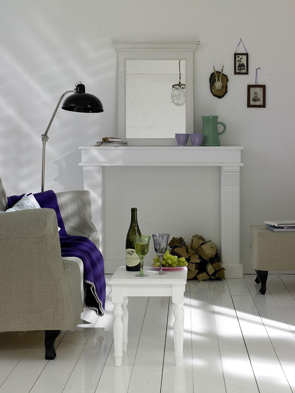 kaminatrappe-weiss | Living room | Pinterest | Kaminkonsole ...