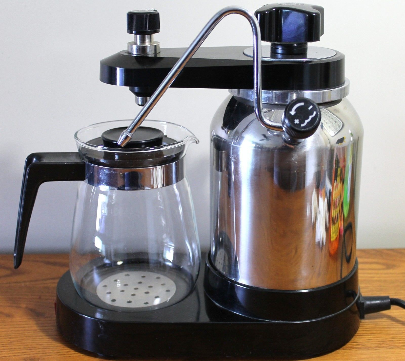 RARE Electric Vintage Elebak SLR Espresso Cappuccino