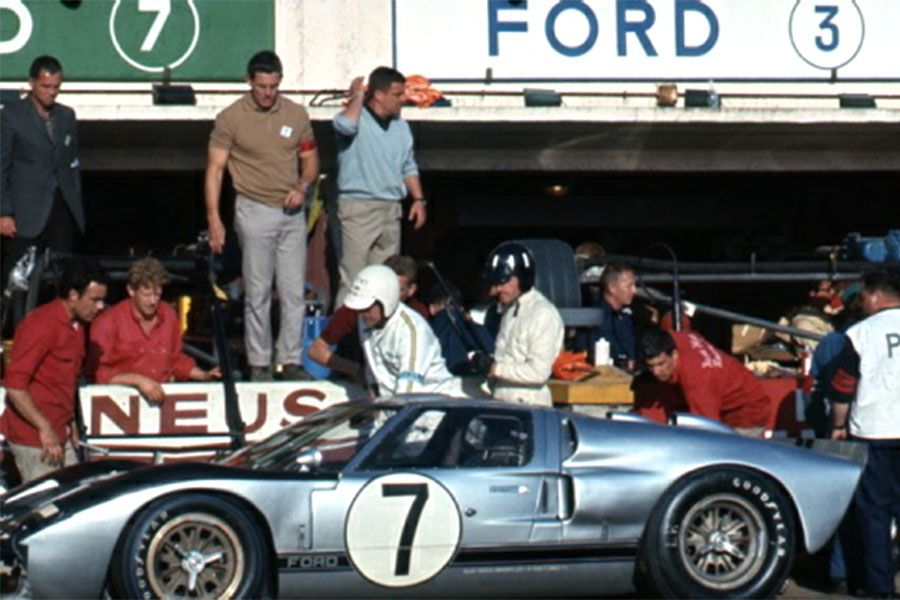 Ford Mkii Scalextric 7 24 Heures Du Mans 1966 Avec Images