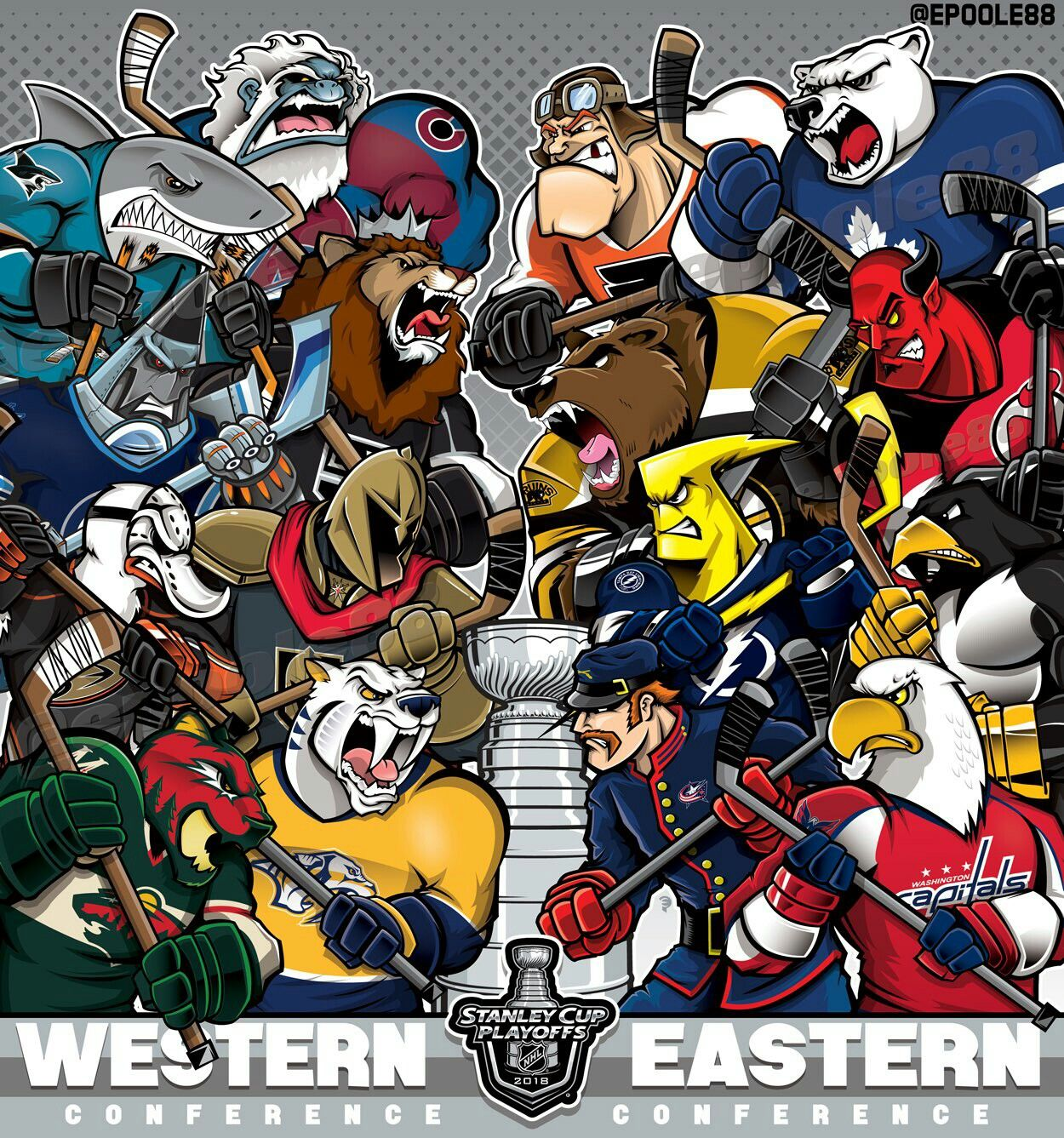 The 2018 Nhl Stanleycup Playoffs It S Gotime Hockey Humor Nhl Playoffs Baseball Playoffs