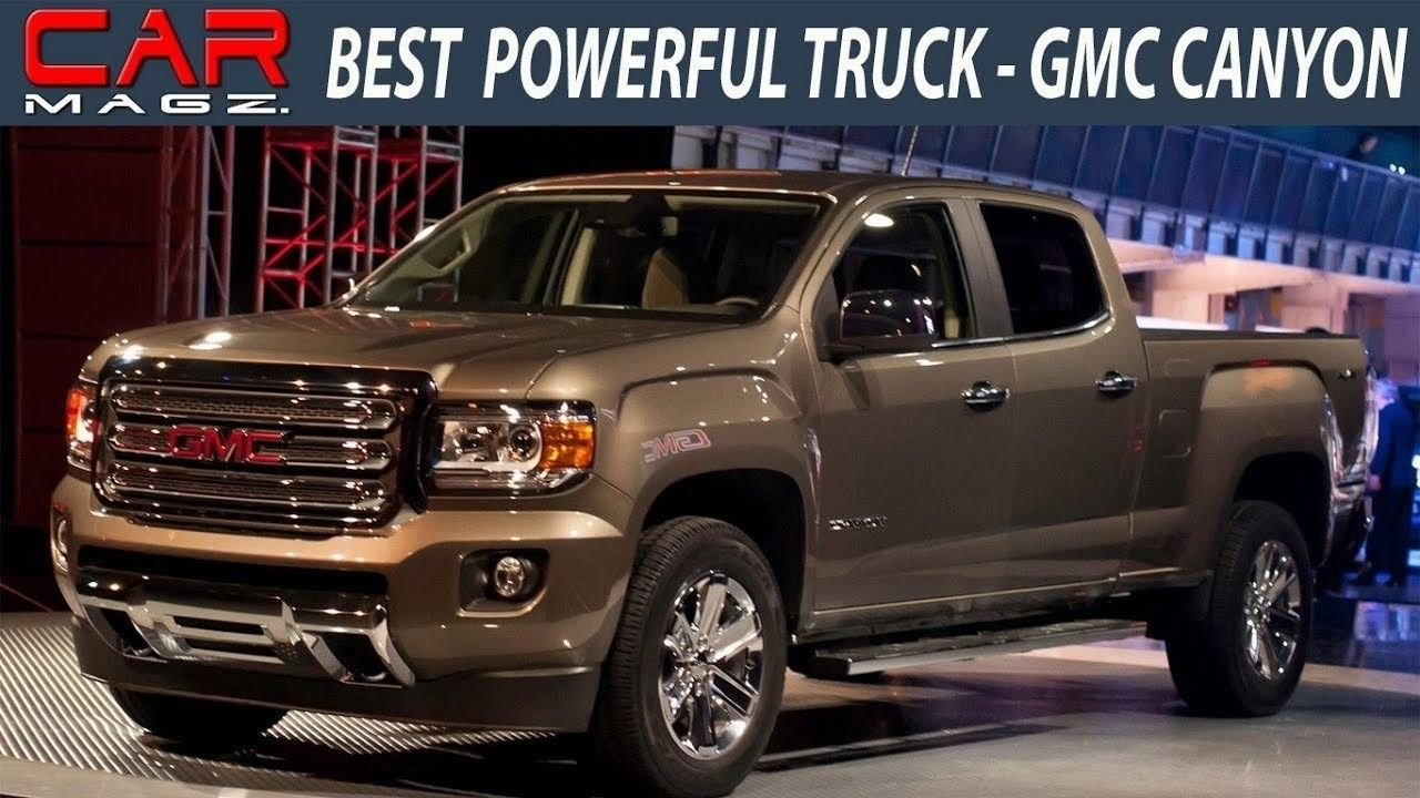The 2019 Gmc Canyon Colors Release Date