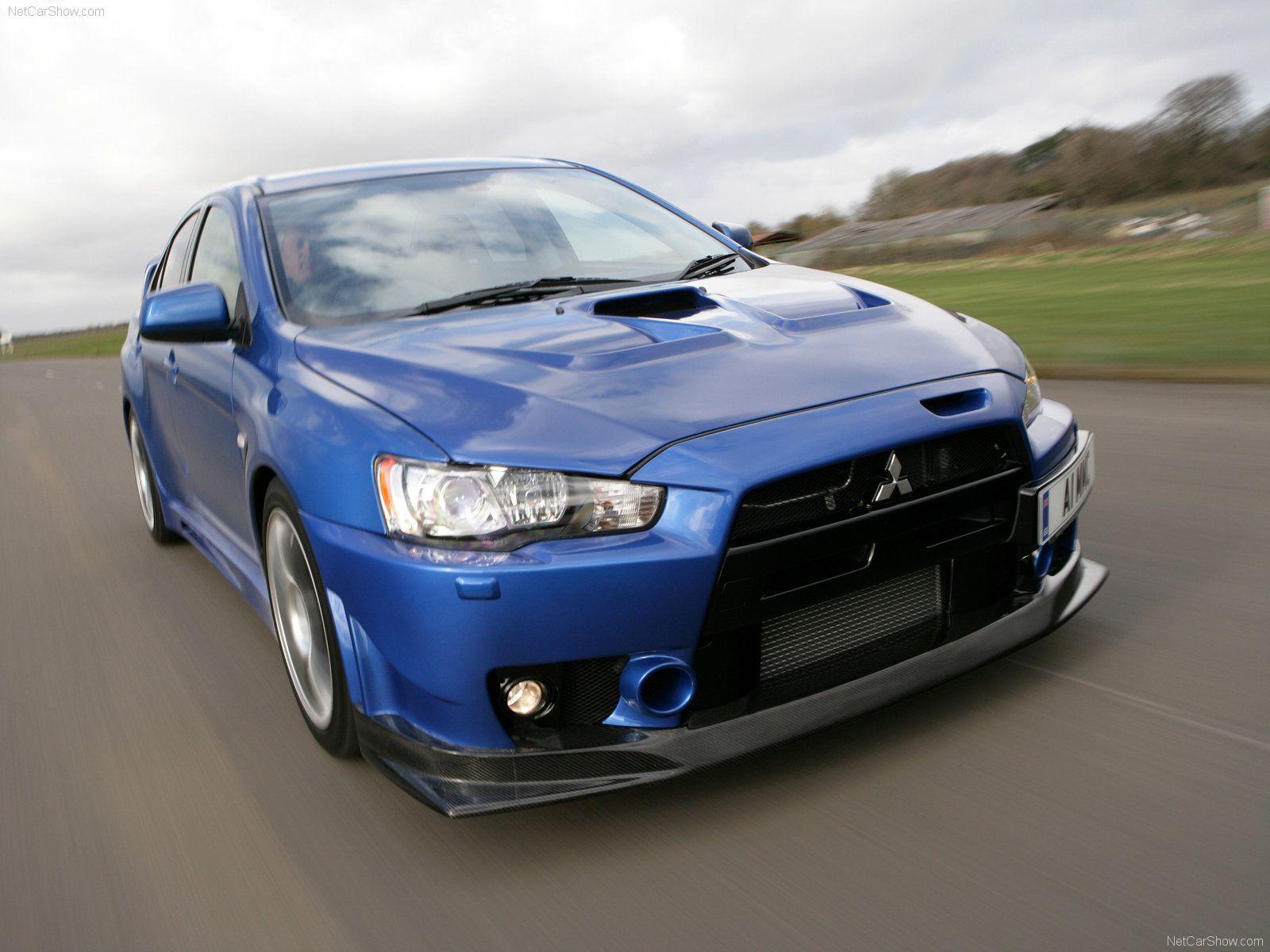 Mitsubishi lancer evolution x fq 400 2010