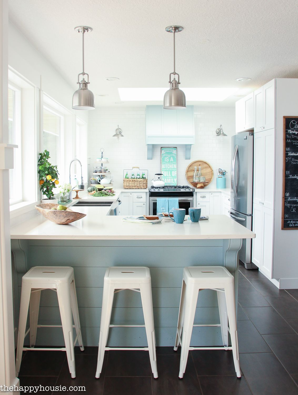 Fall Dining Room Kitchen Tour