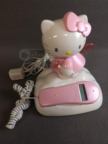 Hello Kitty Land Line Telephone