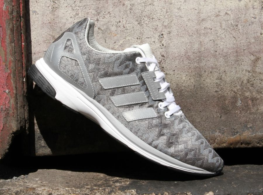 "the latest d1664 72b62 adidas Originals ZX FLUX ZERO ""Metallic Silver""  After first unveiling the  ZX Flux and ZX Zero last season, adidas Originals is back with a hybrid"