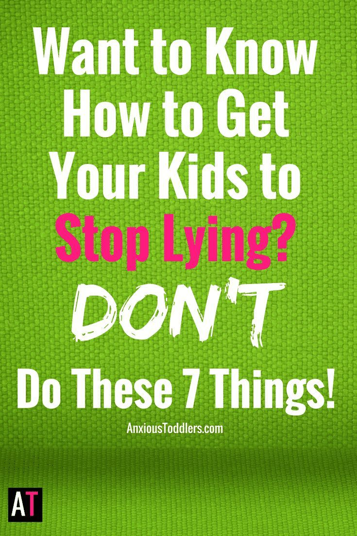 How can you get your kids to stop lying directly to your face? Are you raising little sociopaths? Are they doomed to be pathological liars? Most likely not.