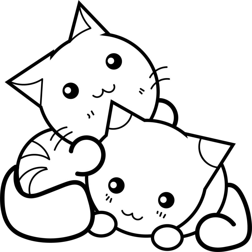 Cat Coloring Pages Cat coloring page, Cute coloring