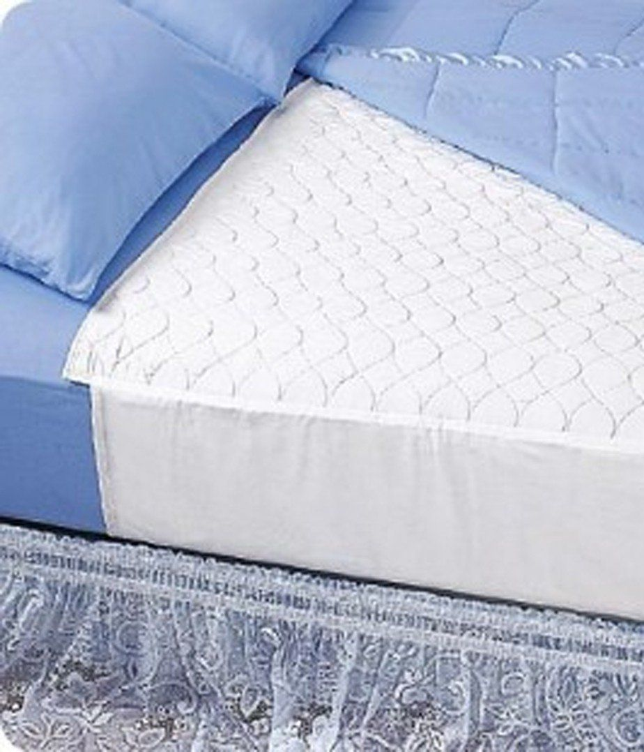 wearever incontinence mattress pad protector with wings mattress