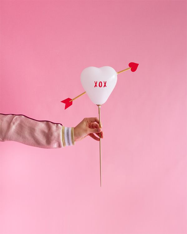 Cupid\'s Heart\' Balloon Sticks | Valentine\'s Day | Pinterest ...
