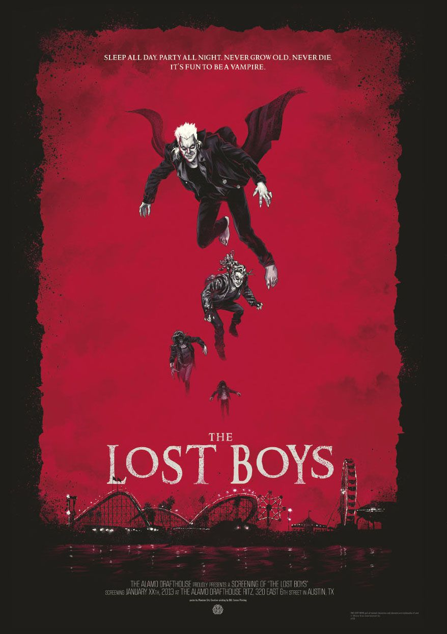 The Lost Boys   Vampire Dracula Movie Posters Classic Vintage