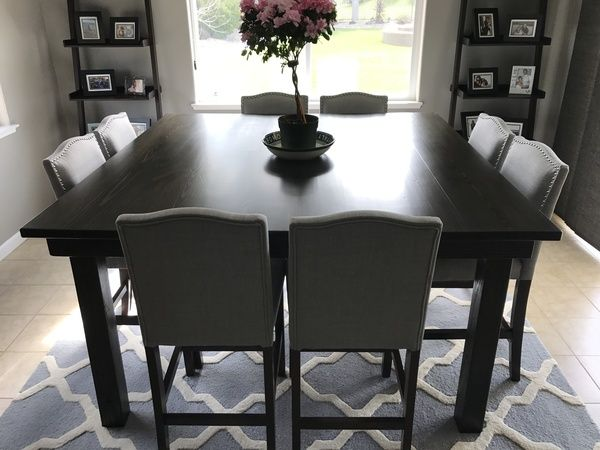 5 Square Farm Table By Perryloop On Etsy Farmhouse Dining Room