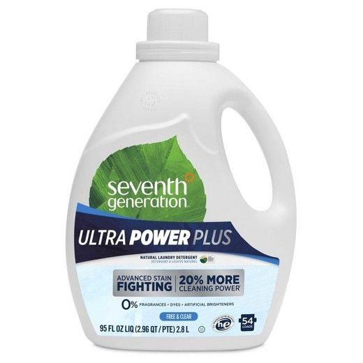 Seventh Generation Ultra Power Plus Free Clear Laundry Detergent