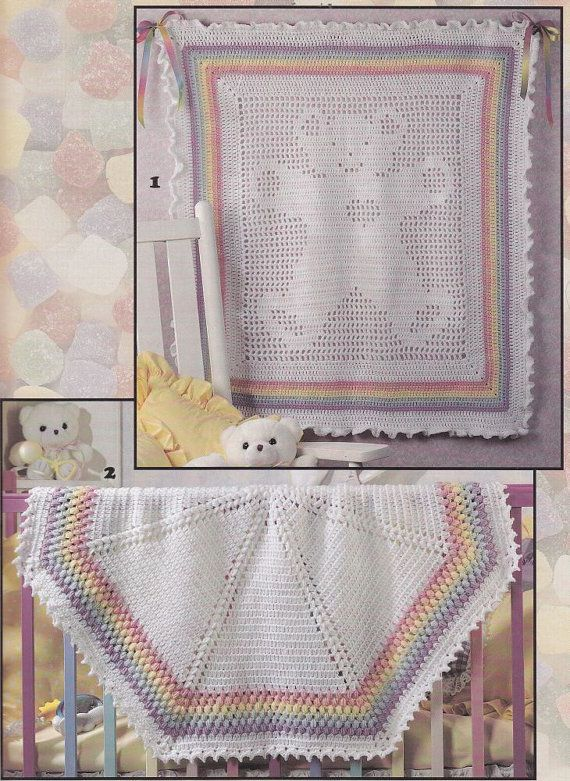 Crochet Baby Afghan Crochet Patterns - Gumdrops and Rainbows-I made this for my nephew 9 years ago!