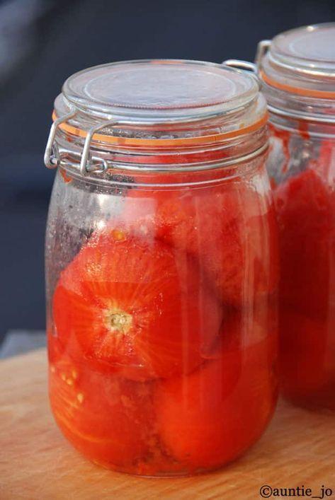 Conserves tomates cuisine en 2019 conserves de tomates recettes de cuisine et recette - Sterilisation plats cuisines bocaux ...
