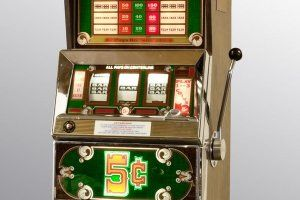 Nickel slot machine antique