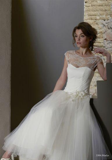 Robe mariage decale original