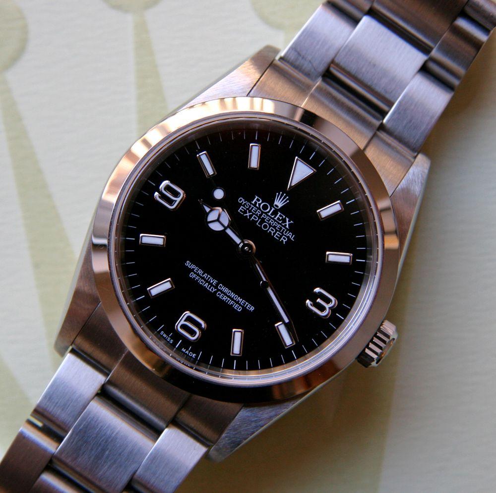 Modern 36mm Ref 114270 Vintage Rolex Rolex Men Rolex