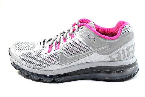 Nike Women's Air Max 2013 LE Silver/Pink Running Shoes 579585 066 #Sales #Deals #Nike #airmax #Running #Shoes #Runners  www.sneakerkingdom.com