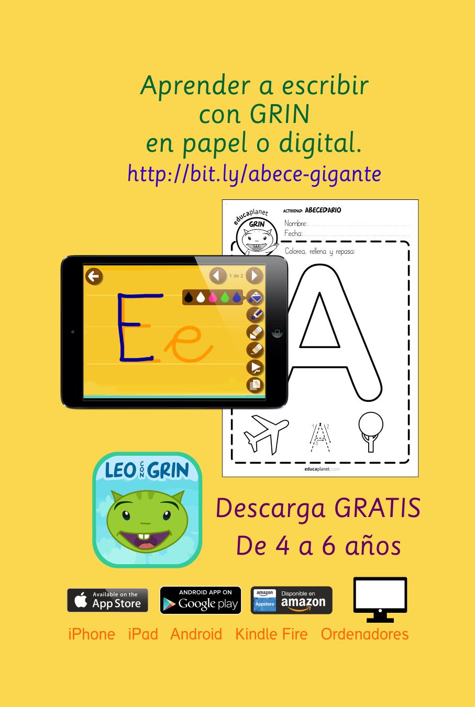 juegos para aprender a leer en casa o en el aula con el abecedario
