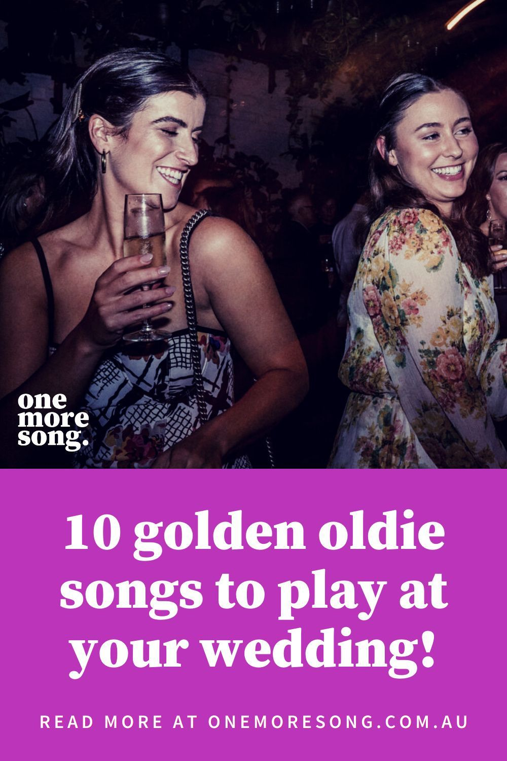 Looking for some inspiration for classic songs to play at your wedding? Look no further - these 10 golden oldies from Melbourne's One More Song DJs will get you started! #weddingsongs #weddingmusic #melbournewedding #weddingplaylist #weddingdj Photo credit: Lulu + Lime.