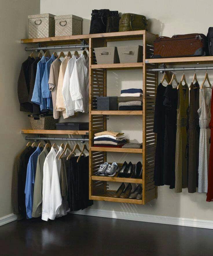 32 Amazing Closet Organization Ideas The Secrets Of An Organized Room Closet Organization Ideas Closet Storage Closet System Diy Closet System