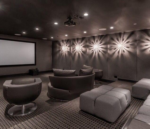 Salas De Cine En Casa: Big Dreams & Luxury Taste