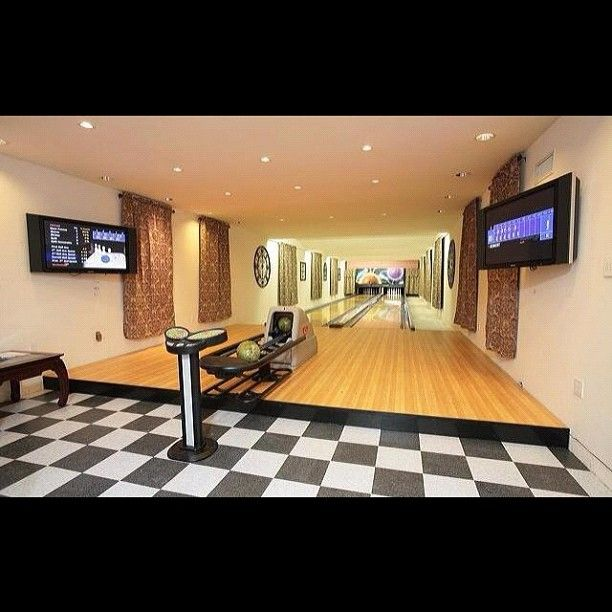 ++ In Home Bowling Alley ++