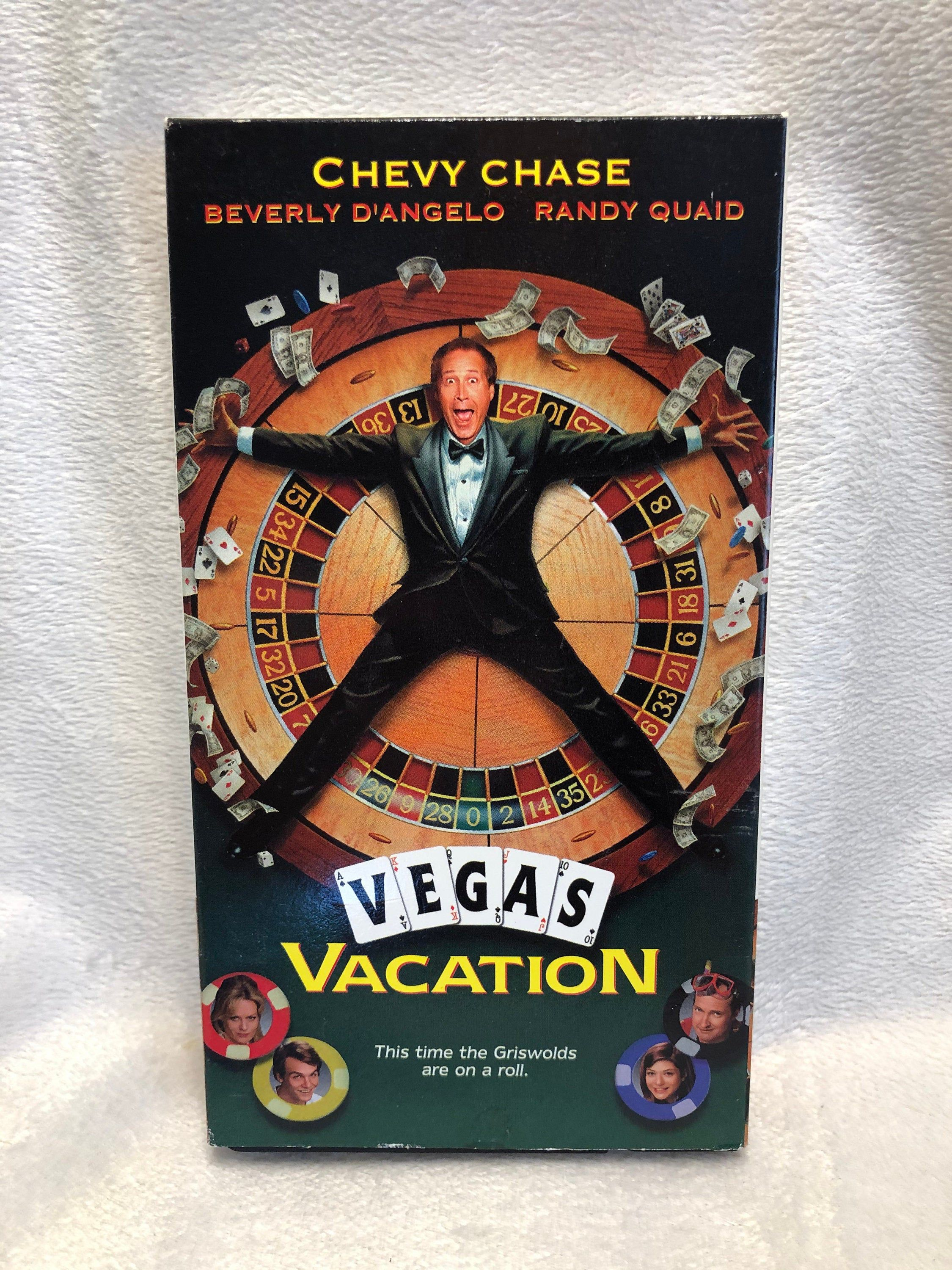 Vintage National Lampoons Vegas Vacation VHS Movie 1997