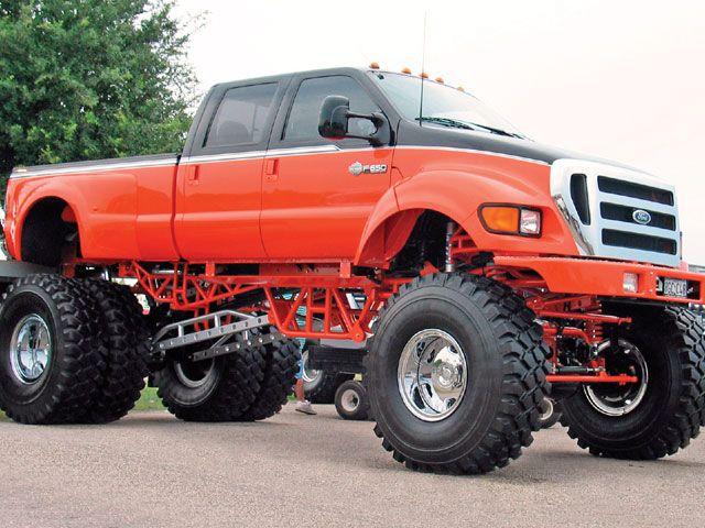 F650   Biggest truck, Ford f650 and Big