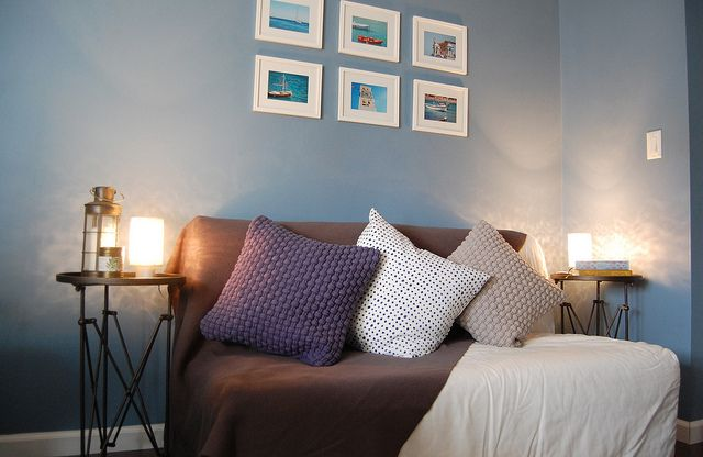 Sherwin Williams Leisure Blue Master Bedroom Room