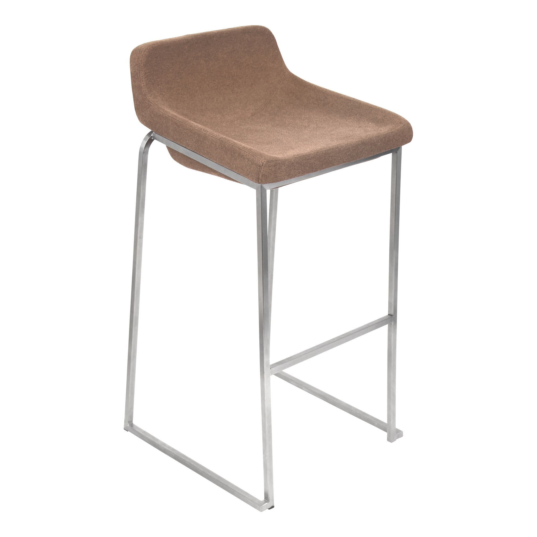 Drop In Bar Stool in Light Brown