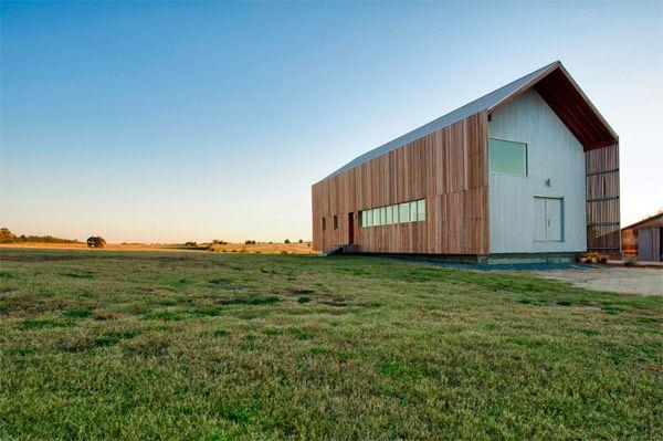 Modern barn home!