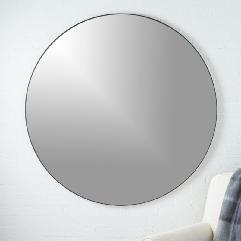 Infinity Round Black Mirror 48 Reviews Modern Mirror Wall