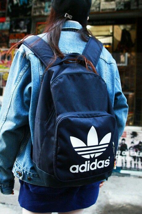 Adidas School: / Pinterest Adidas, mochilas y deportivo
