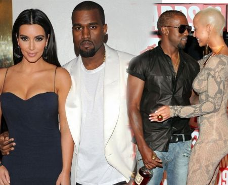 Kim Kardashian Betrayed After Finding Intimate Pictures Of Kanye West S Ex Amber Rose On His Computer Kim Kardashian Kanye West Kanye
