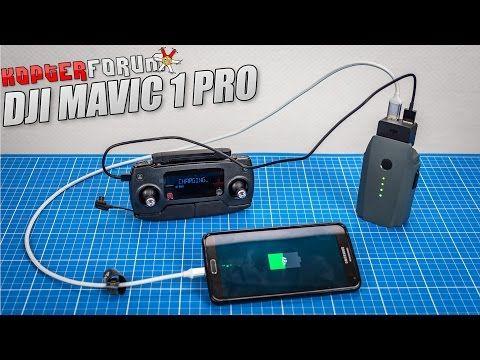 DJI Mavic 29 Power Bank Adapter [german/deutsch] YouTube