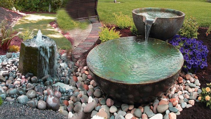 22 DIY Water Fountain Design For You Make Beautiful Garden Ideas